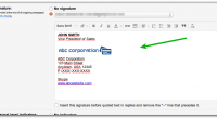 If you are having trouble figuring out how to add your company logo into your Gmail signature, you are in very good company.
