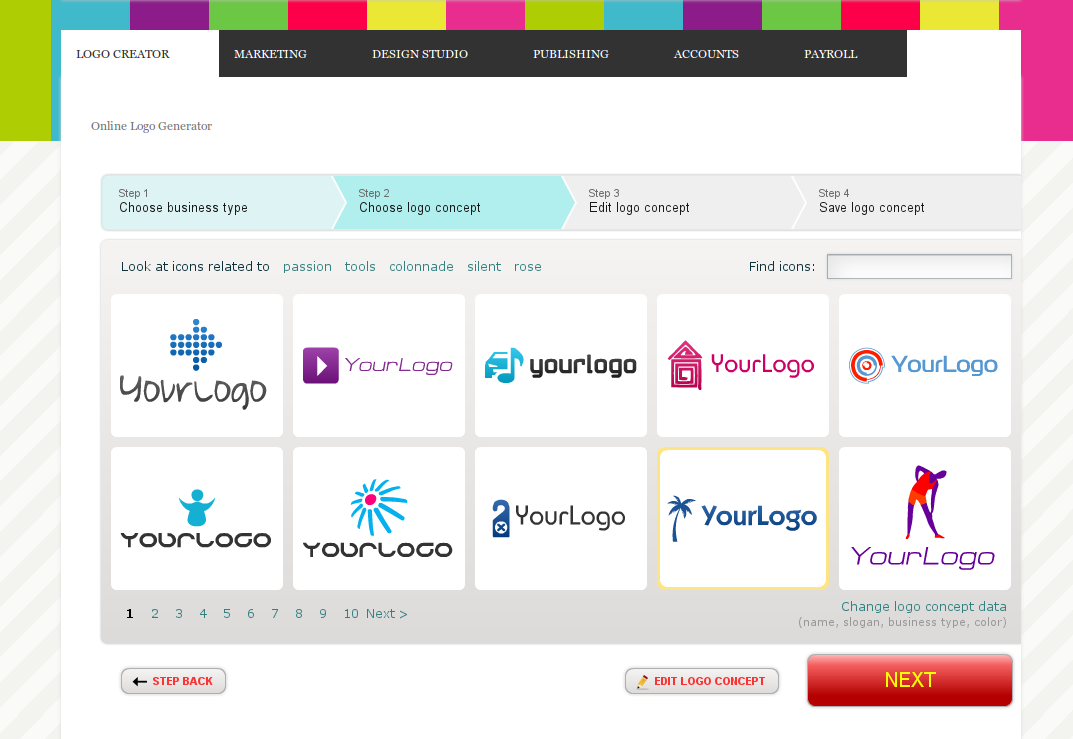 Put Logo Creation Wizard On Your Own Website And Earn