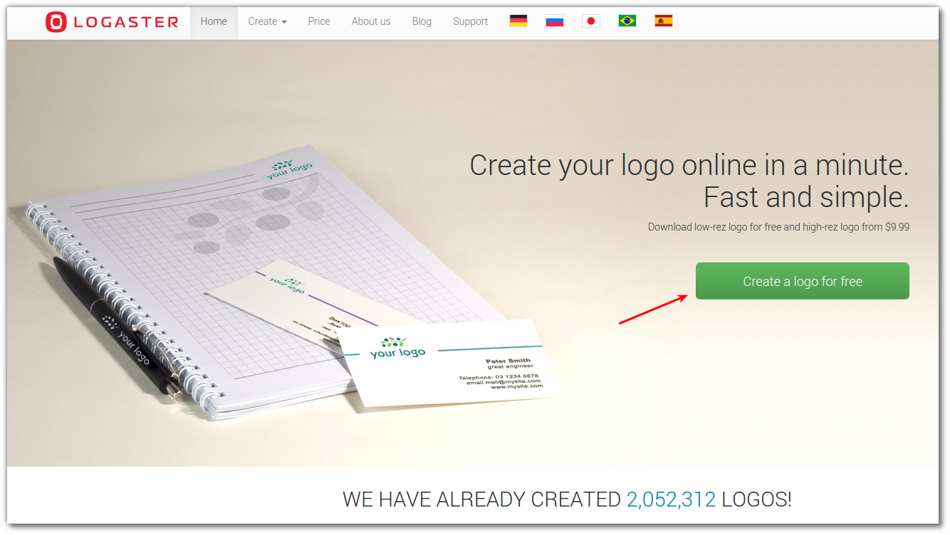 create your logo in any language logaster logo design blog Выделение 006