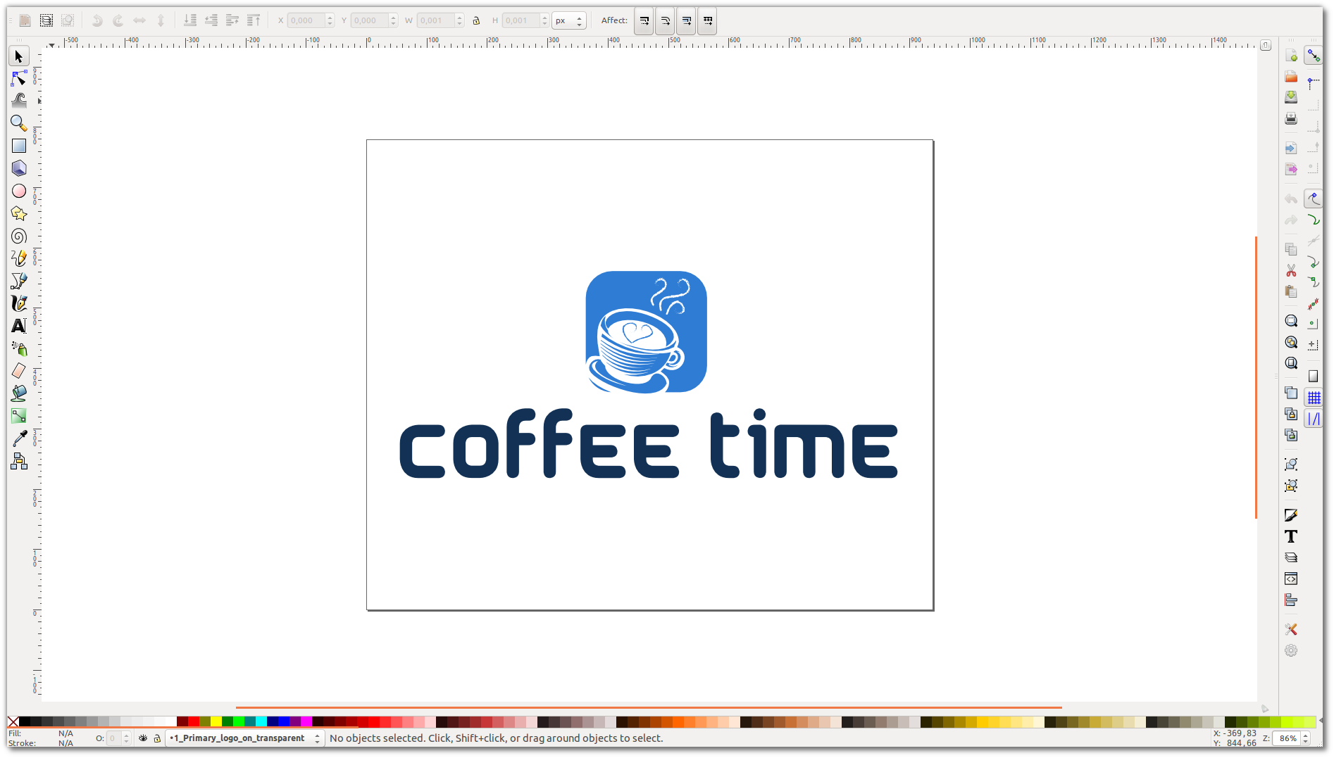 How to change the background of logo via Inscape or Photoshop ...