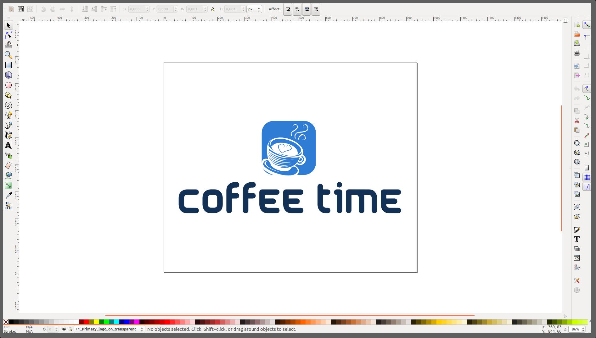 Как сделать логотип на бланке