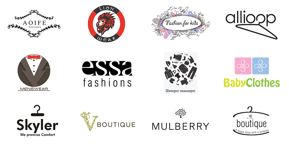 How to Create a Clothing Logo: Guidelines and Tips | Logo Design ...