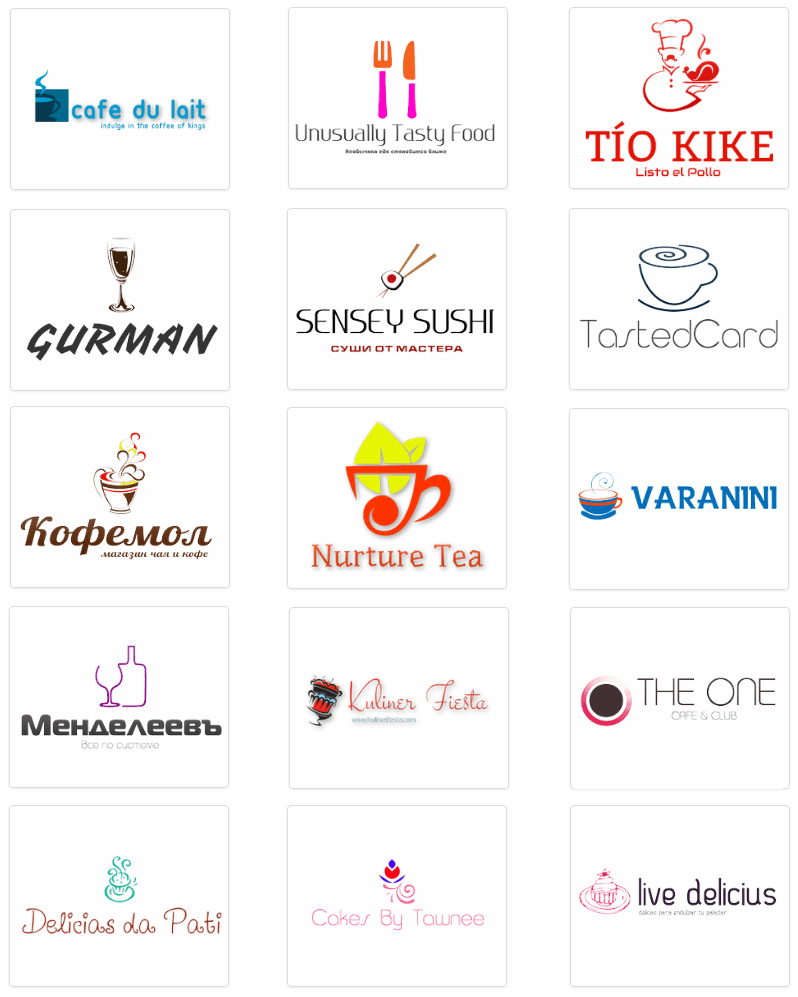 How to create a restaurant logo guidelines and tips logo design restaurant logo buycottarizona Image collections