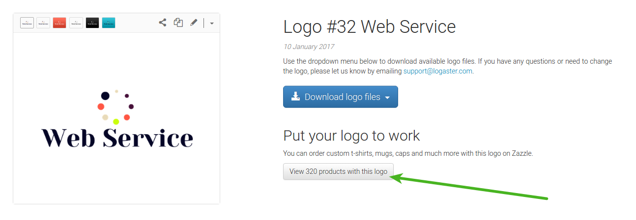 How to Print Your Logo from Logaster with Zazzle