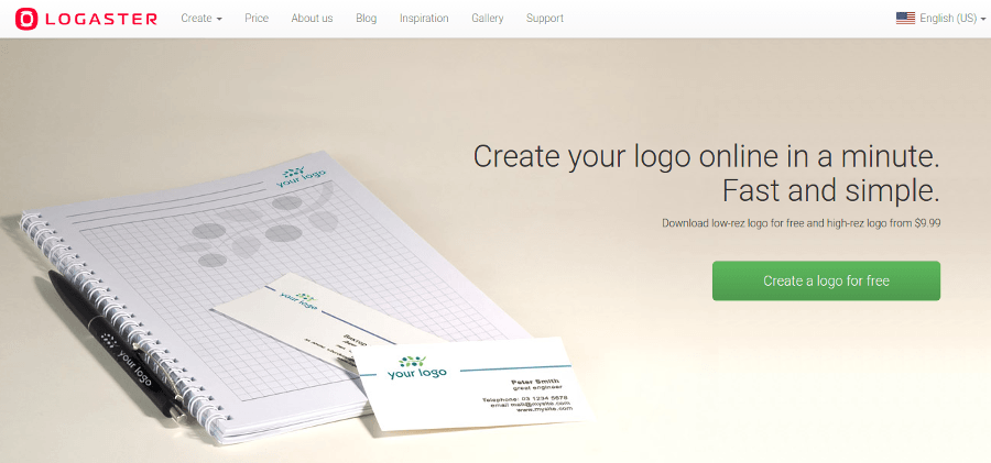 logaster logo maker