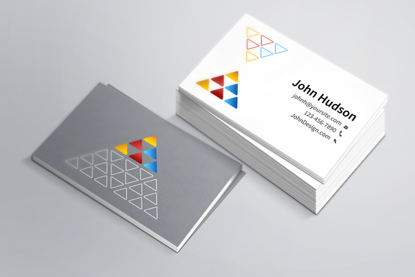 How to make a business card online business card template mockup 1 colourmoves