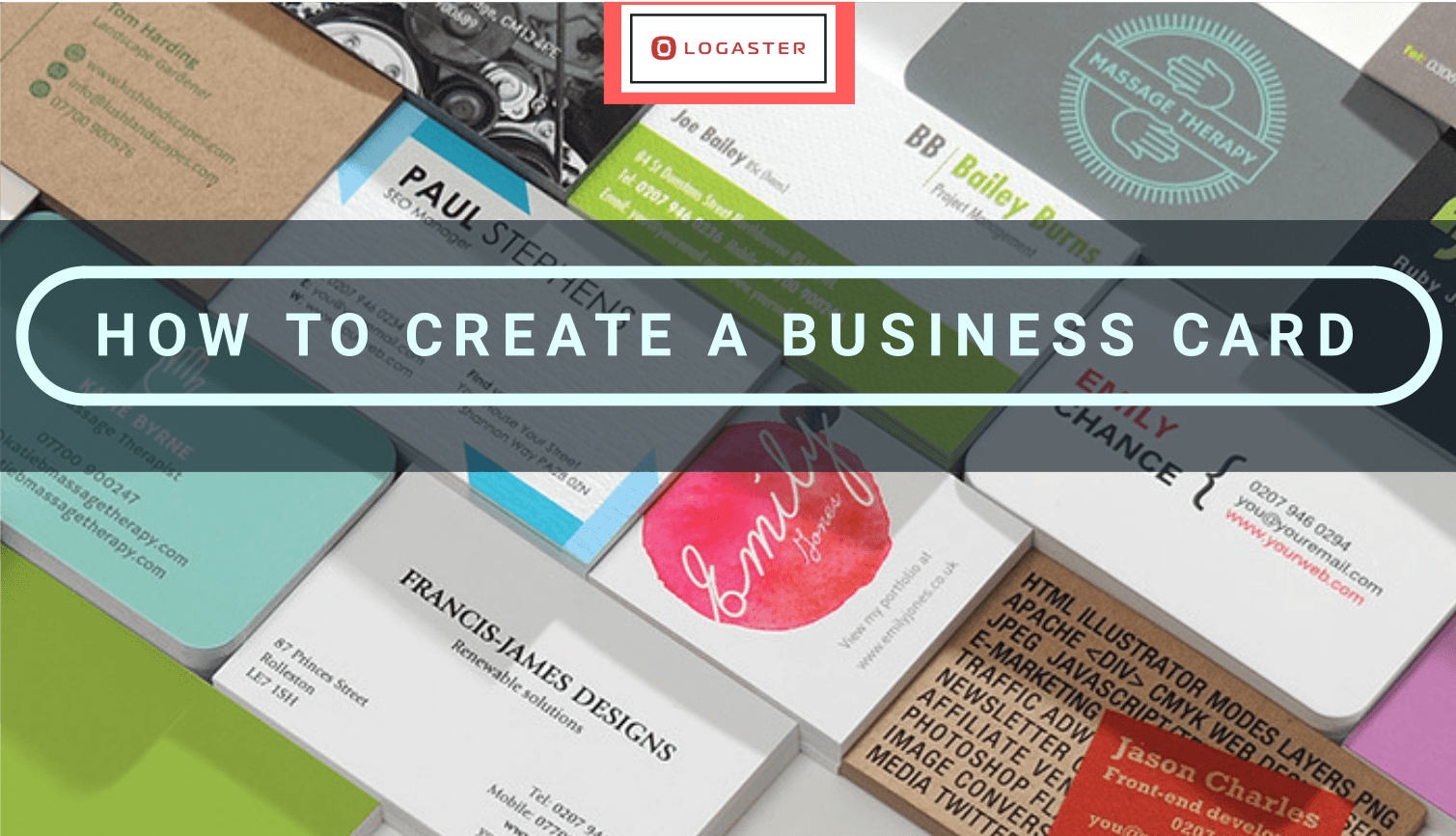 How to make a business card online create business card reheart