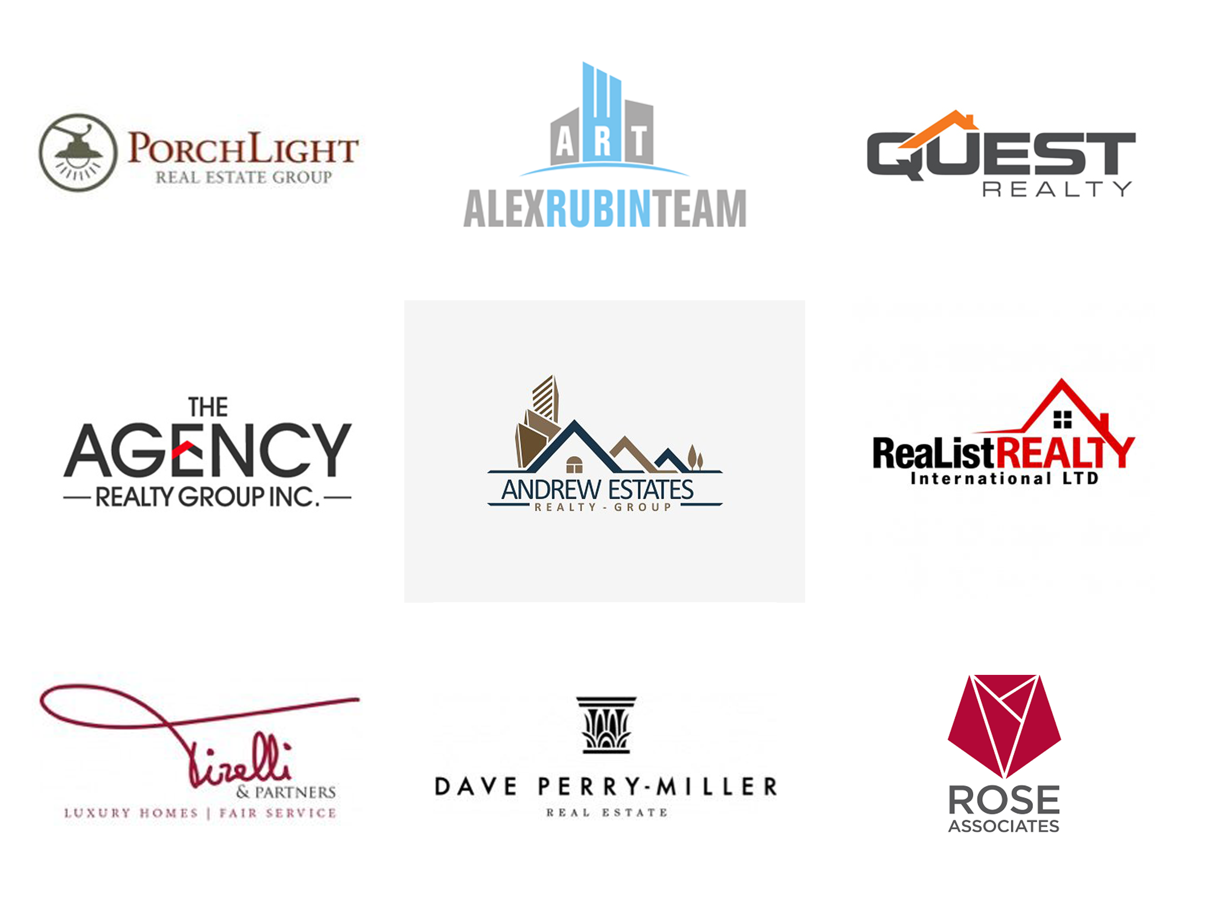 Examples of logo designs