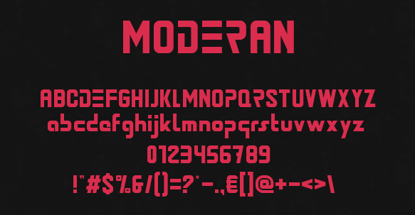Zoki Design Created This Modern Font
