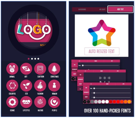 Logo Generator & Logo Maker from Light Creative Lab