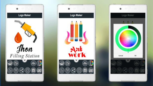 Logo Maker App from Universal Apps Center