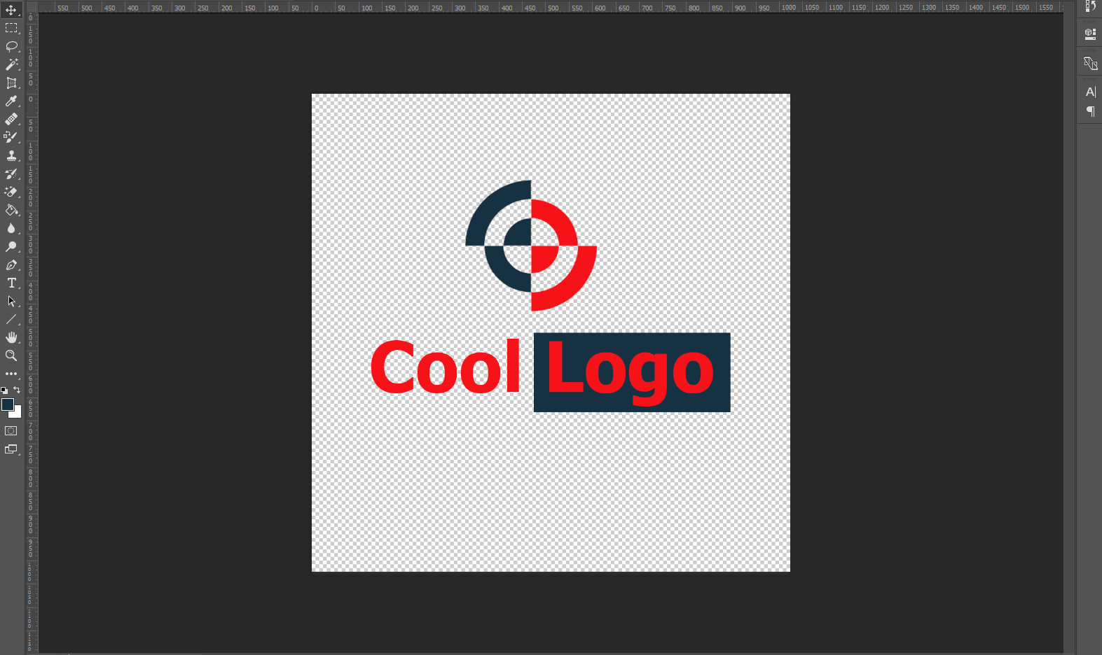 Logo-via-photoshop