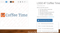 With Logaster, any user can get a professionally designed logo for any website in just a few minutes.