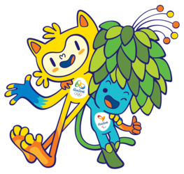 Brezilya Olimpiyatları ve Paralimpik Oyunları Logosu