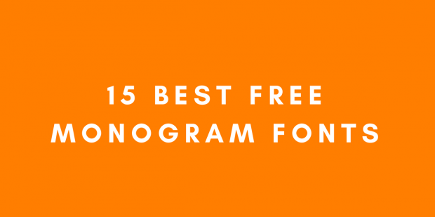 15 Best Free Monogram Fonts For Your Projects Logaster