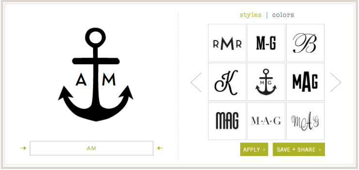 how to make your own monogram 5 free online monogram makers logo