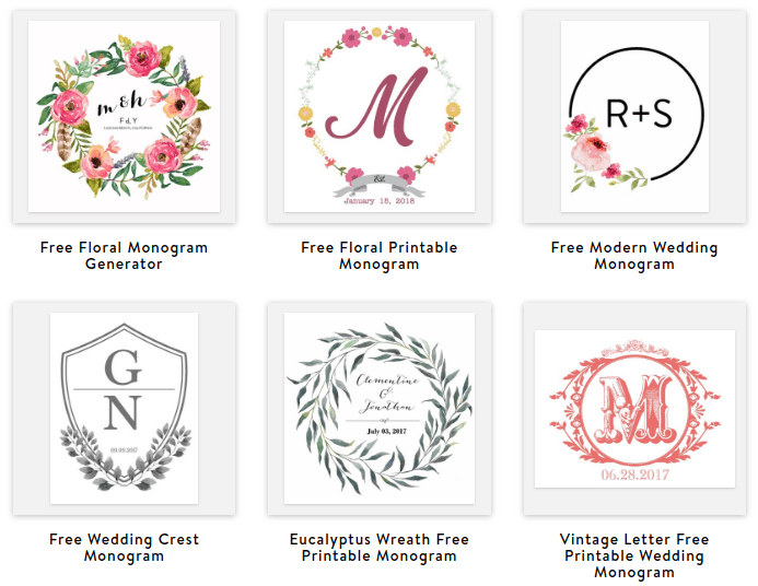 photo about Free Printable Monogram known as How in direction of crank out your private monogram: 5 cost-free on line monogram suppliers