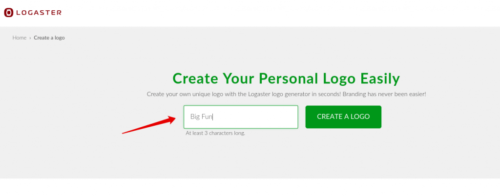 Create a Logo Logaster