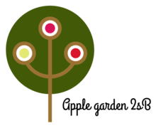 Apple Garden Logaster logo