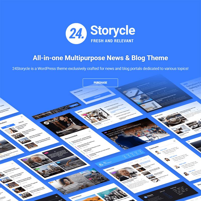 24.Storycle WordPress Theme