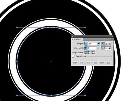 Cercles Dans Illustrator