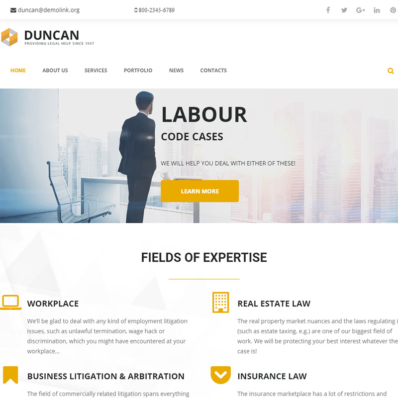 Duncan Law Theme