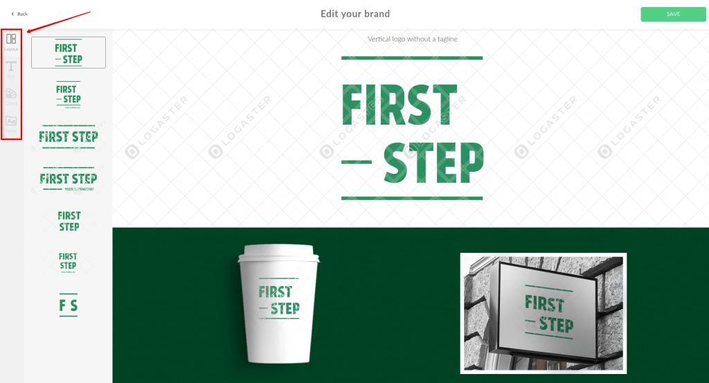 Modifier Le Logo