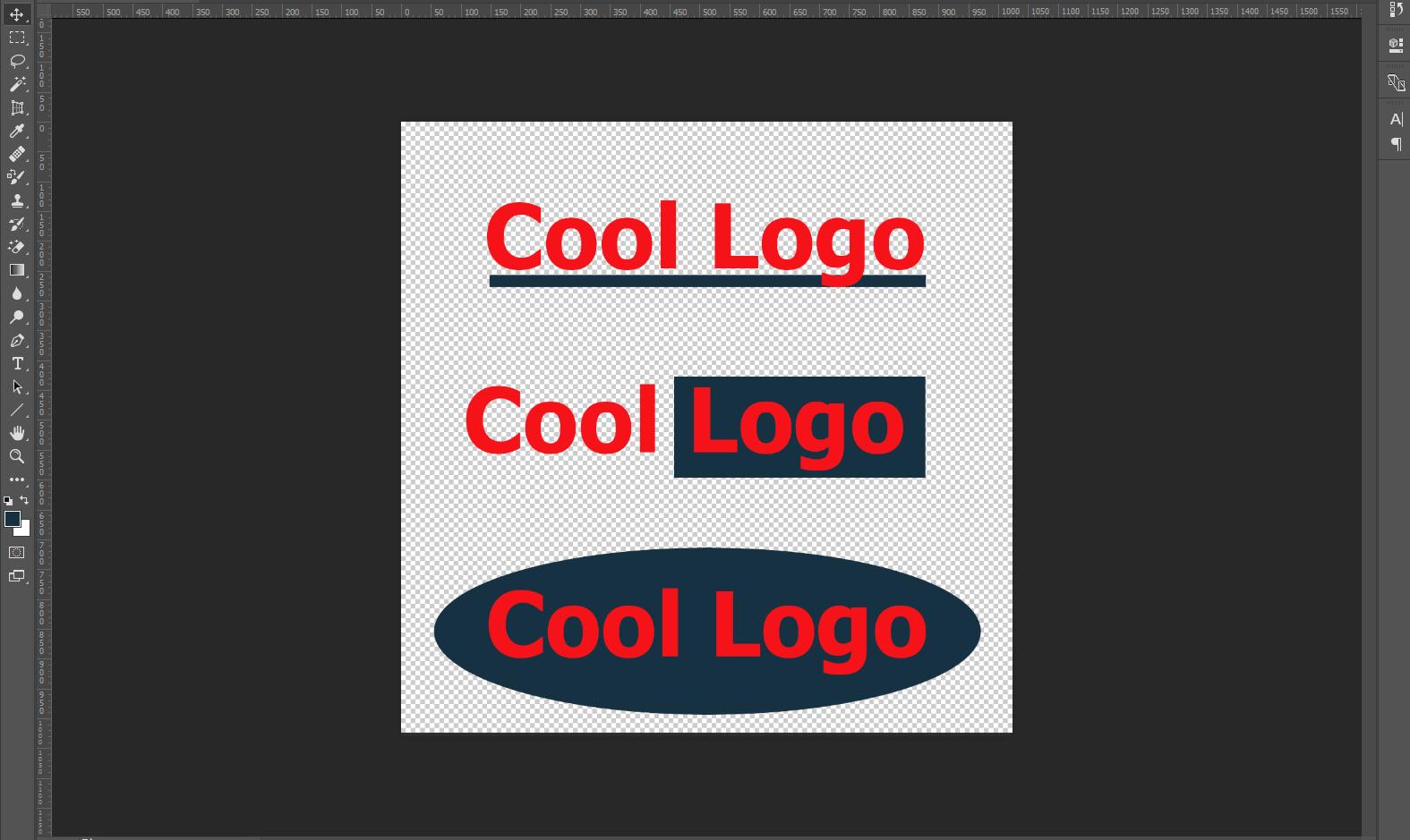 formes Géométriques Dans Le Logo