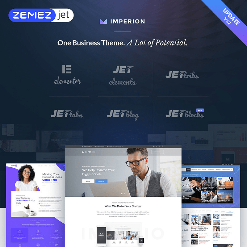 Imperion Business Theme