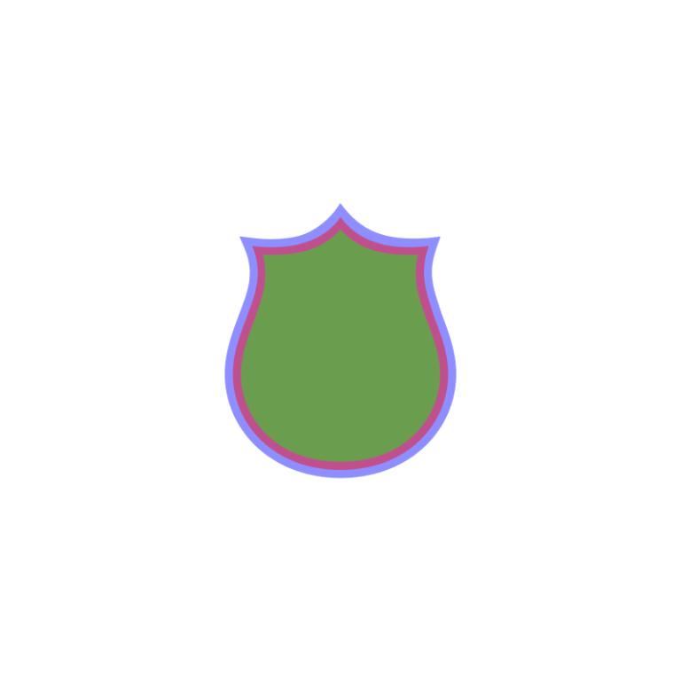 Inkscape Logo De Bouclier Etape 1.1