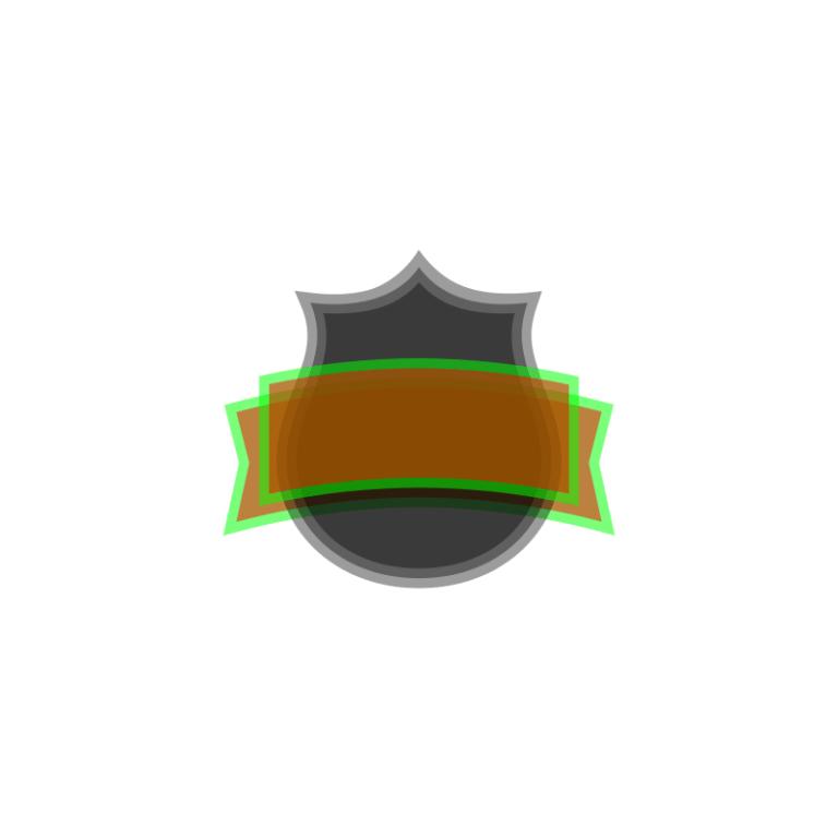 Inkscape Logo De Bouclier Etape 2.1