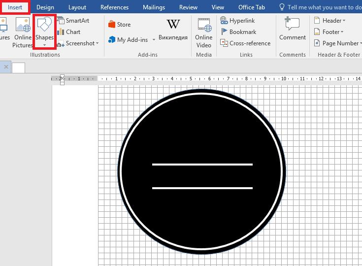 Insérer Des Lignes Dans Le Logo