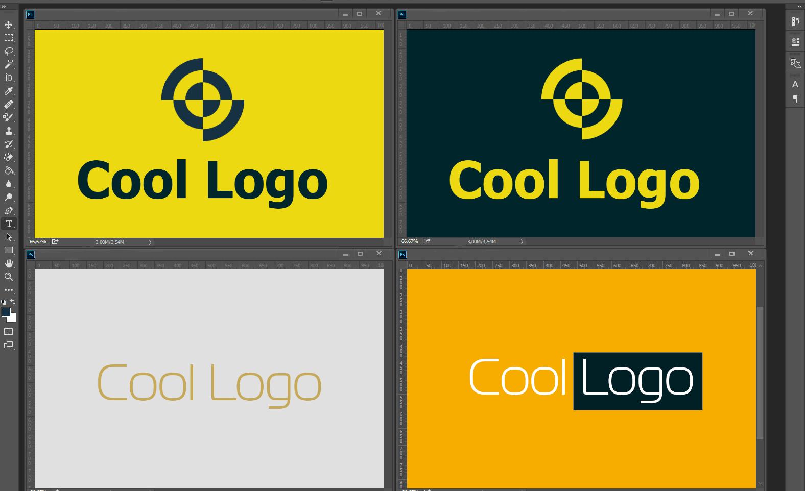 Logos Dans Photoshop