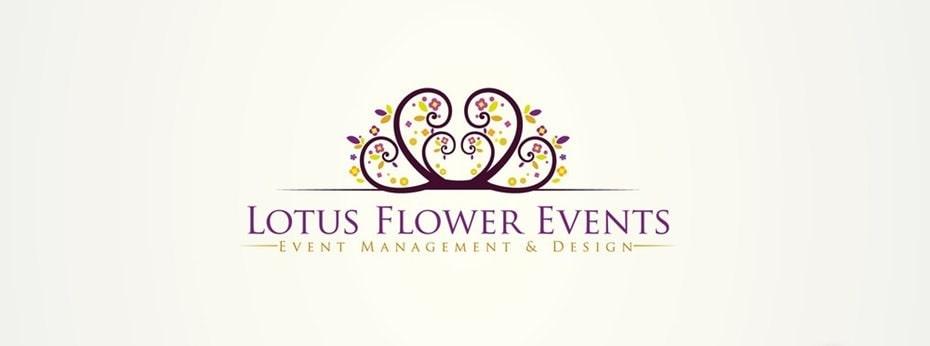 Evénements Fleur De Lotus Monogramme