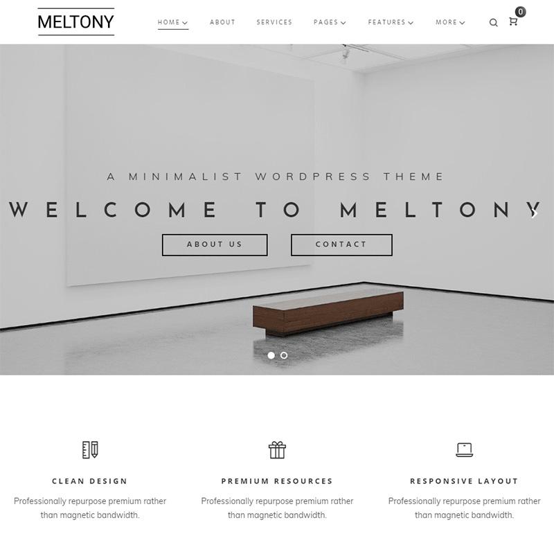 Meltony WordPress Theme