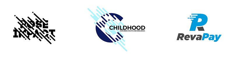 Rayures Dans Le Logo