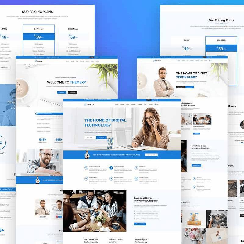 Themexp Corporate WordPress Theme