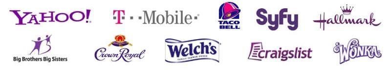 Logos Violets