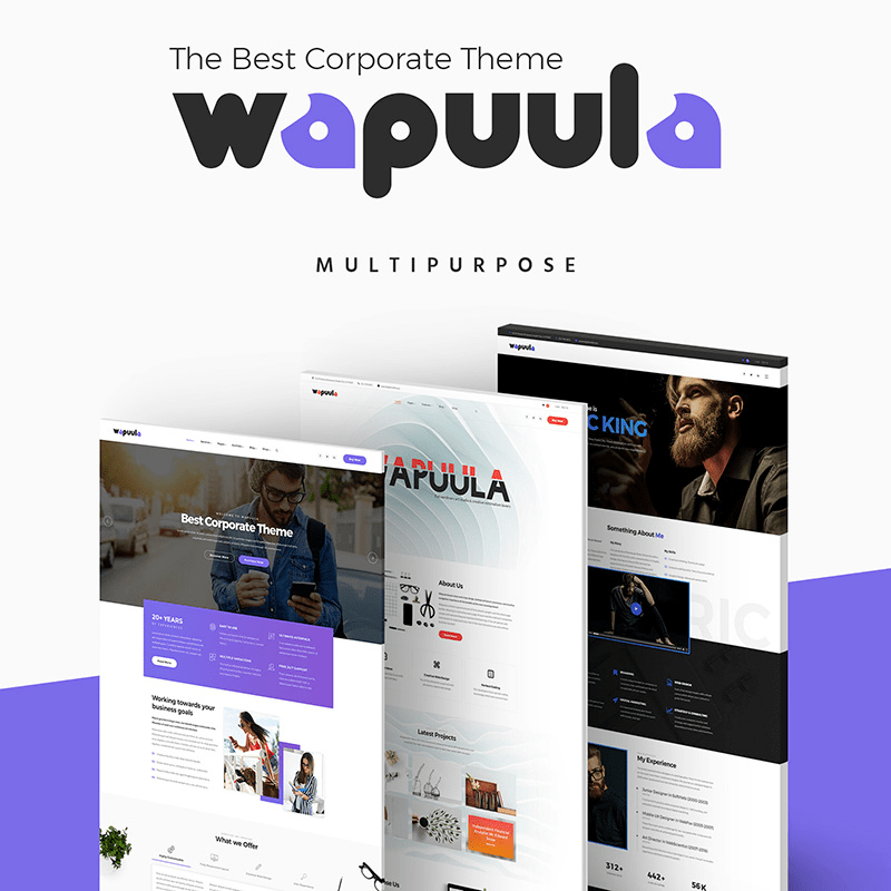 Wapuula Corporate Theme