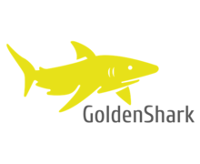 Golden Shark Logaster logo