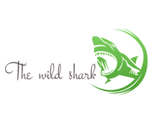 The Wild Shark Logaster logo