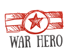 War Hero Logaster Logo