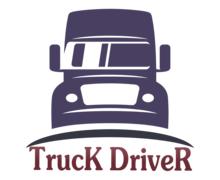Truck Driver Logaster Logo