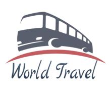 World Travel Logaster Logo