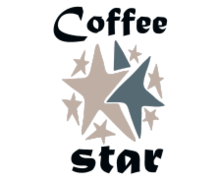 Coffee Star Logaster Logo