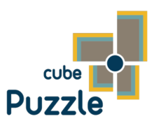 Cube Puzzle Logaster Logo