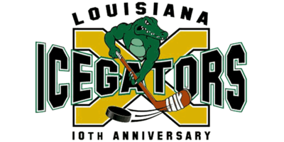 Louisiana Ice Gators Logo