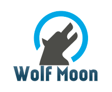 Wolf Moon Logaster Logo