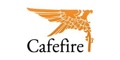 Cafe Fire Logaster Logo