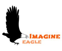 Imagine Eagle Logaster logo